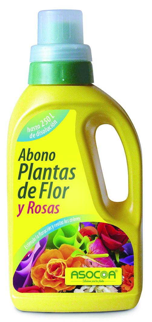 Abono Plantas de Flor y Rosas Asocoa