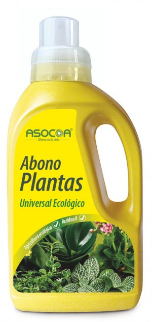 Abono Plantas Universal - Ecológico Asocoa